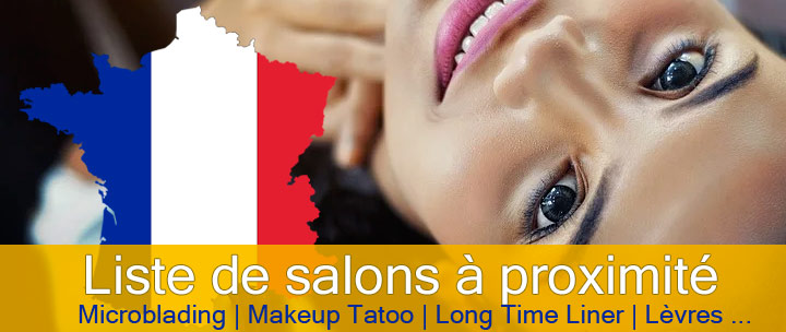 salons de maquillage permanent en France
