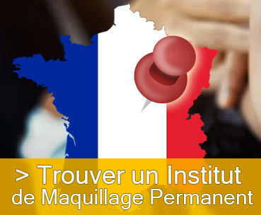 carte des instituts de maquillage permanent